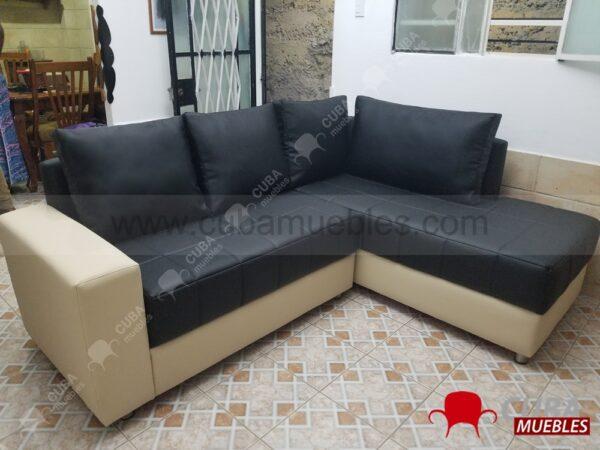 SOFIA Sofa 2 plazas con Chaise Longue.